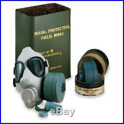 M9A1 Gas Mask U. S. G. I. Korean War ERA Collectible