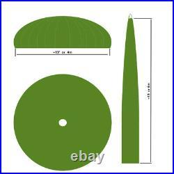 MILITARY SURPLUS 24 Foot Green Parachute