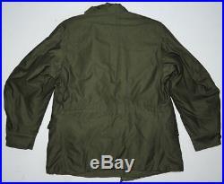 MINTY Vtg 50s M-51 Korean War GI Field Jacket Sm-Short withLiner US Army NOS