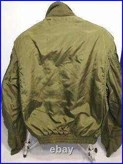Military Bomber Cold Weather Flying Aviator Jacket Korean War US Air Force USAF