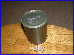Military C-Ration 1951 NOS RARE Korean War Cigarette Accessory Pack Tin