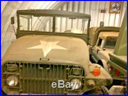 Military M211 GMC 6x6 Deuce and a Half Cargo Truck Korean War Era Deuce