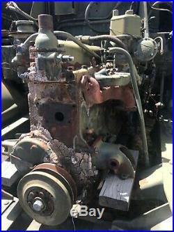 Military M211 GMC 6x6 Deuce and a Half Korean War Deuce Engine and transmission