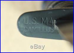 NEAR MINT Korean War CAMILLUS M4 Bayonet/Knife for M1 Carbine withPWH M8A1 Sheath