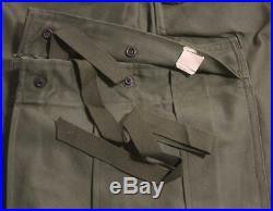 NEW CUTTERS TAGS 1951 KOREAN WAR M51 M1951 SHELL FIELD TROUSERS CARGO PANTS Sz M