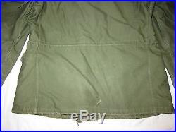 NICE Korean War VTG M-1951 Field Jacket SMALL/MED Mens USMC Military Coat 1955
