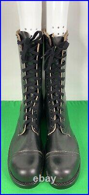 NOS 1956 International Shoe Vietnam Korean War era Jump Boots Airborne Sz 11 XN