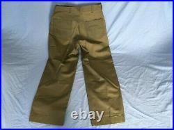 NOS unissued WWII Korean War USMC herringbone twill HBT trousers pants P41