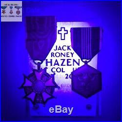 Named Legion Of Merit Army Commendation Medal Ww2 Korean War Lt Col Jack R Hazen