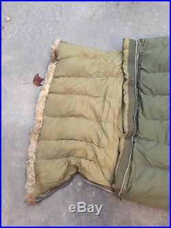 Nice US Military Sleeping Bag! Korean War, Evacuation/Casualties Bag. Great Shape