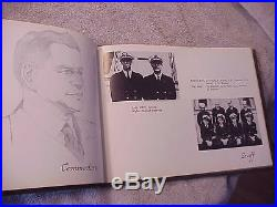 Original C. 1953/54 Korean War Era Uss Turner Ddr-834 Med Cruise Book