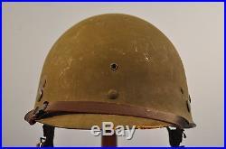Original Early Korean War Us M1c Airborne Paratroopers Helmet 100% Complete