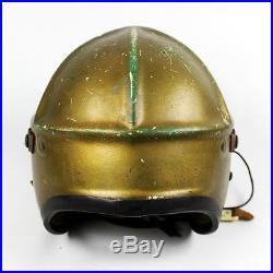 Original Korean War Era Usn Us Navy Jet Pilot Flight Helmet Type H-4 Identified