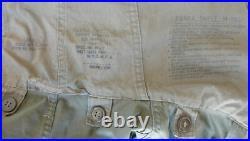 ORIGINAL US ARMY Korean War M-1951 FISHTAIL PARKA Jacket Coat mfd May 1951 Small