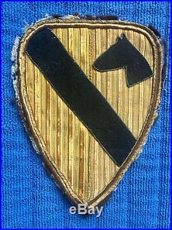 ORIGINAL US Army KOREAN WAR ERA 1st CALVARY Division Shoulder PATCH