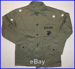 ORIGINAL USMC WW2 / KOREAN WAR P41 HBT JACKET mint with CUTTER TAGS US