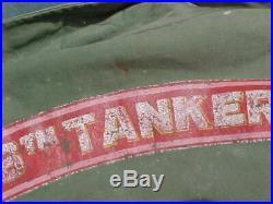 ORIGINAL WWII M43 JACKET With KOREAN WAR 106TH TANKERS TANK ARTWORK