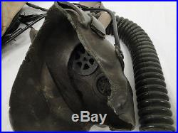 Old Gentex H-Series Fighter Pilot Flying Aviation Helmet Korean War Custom Paint