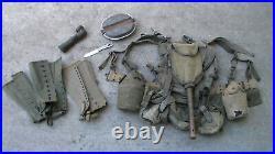 Old Relic US WW2 / Korean War / Vietnam War era M-1945 Combat Backpack USED