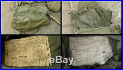 Old US Army WW2 to Korean War era Canvas M-1945 Combat Backpack Used Condition
