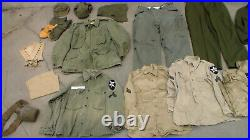 Old Vintage US Army Korean War era M-1951 Combat Field Uniform in Used Condition