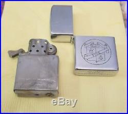 One of a kind US Navy 1951 Korean War UDT-5 OIC LT Deiner Zippo Lighter w box
