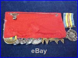 Orig WW2 & Korean War Medal Group RCN & Tank Commander Royal Canadian Navy