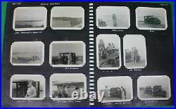 Original 1950 Korean War Photo Album 9th Fighter Squadron Identified Owner