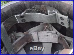 Original Airborne Paratrooper M1 Helmet Korean War