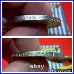 Original British Korean War Medal Pair, Gnr A G Turner, R. A