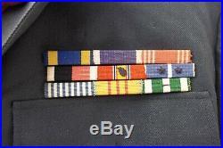Original ID'd Korean War Uniform, 1st Cavalry, 2nd Armored Division Pins Patches