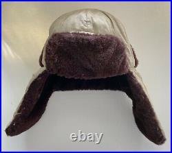Original KOREAN WAR Communist Chinese WINTER FUR CAP Very Rare