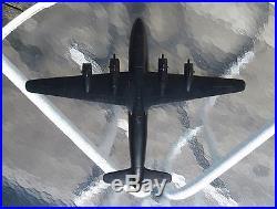Original Korean War Cruver Douglas C-54 Skymaster ID Spotter Recognition Model