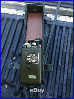 Original Korean War Era MILITARY RECEIVER TRANSMITTER WALKIE TALKIE RADIO PRC-6