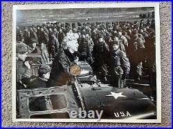 Original Korean War Marilyn Monroe Photo 8x10