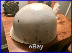 Original Korean War Parade CAPAC m1 helmet liner, great condition Chrome