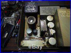 Original Korean War Signal Corps Pe-237 Vibrator Power Unit Rauland Corp