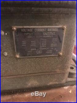 Original Korean War Signal Corps Pe-237 Vibrator Power Unit Rauland Corp Jeep