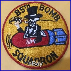 Original Korean War USAF 85th BOMB SQUADRON Rare Patch