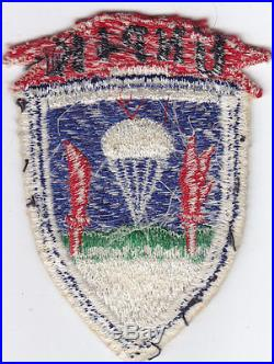 Original Korean War United Nations Partisan Infantry Korea Patch Japanese-made