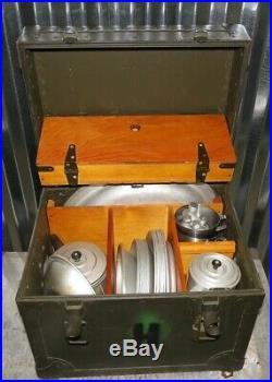 Original Korean War Vietnam Era US Military Field Mess Kit Tableware outfit