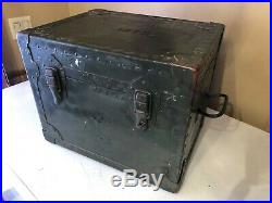 Original Korean War Vietnam Era US Military Officers Field Mess Kit Army 1952-60