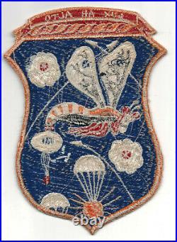 Original Korean War'operation Firefly' Back Patch Dead Mint