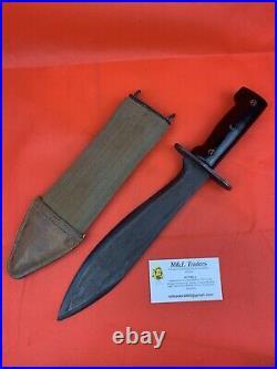 Original Model 1910 American Bolo Knife Korean War Era
