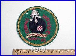 Original STUNNING Korean War era Marine Corps USMC Mag-33 Patch NEW ITAMI STUDIO