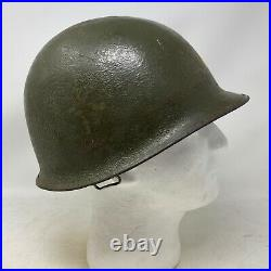 Original U. S. 3 Star Lieutenant General M1 Helmet Korean Vietnam War Relic