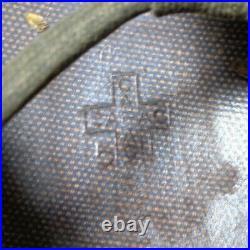 Original U. S. Korean War 1951 Dated M1 Helmet with Liner and Webbing by CAPAC
