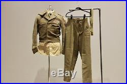 Original US Korean War 8th Army Uniform Grouping, Patches, Ike Jacket, More
