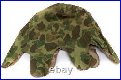 Original US Korean War Era 1953 USMC Frogskin Pattern M1 Helmet Cover