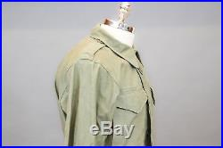 Original US WWII / Korean War era 4th Infantry Division M-1943 Field Jacket